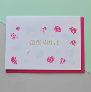Forever And Ever Anniversary Card - anniversary cards