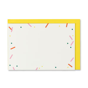 'Confetti' Happy Notes Notecards
