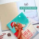 Personalised Christmas 'Greatest Gift' Daddy Book