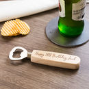 Personalised 18th Birthday Gift Bottle Opener