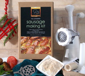 Make Your Own Sausages With Machine - food gifts