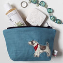 Jack Russell Make Up Bag