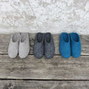Mita Handmade Felt Slippers With Suede Sole
