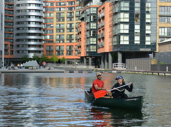 Canoeing Through Little Venice For Two