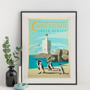 Cape Town, South Africa Travel Print