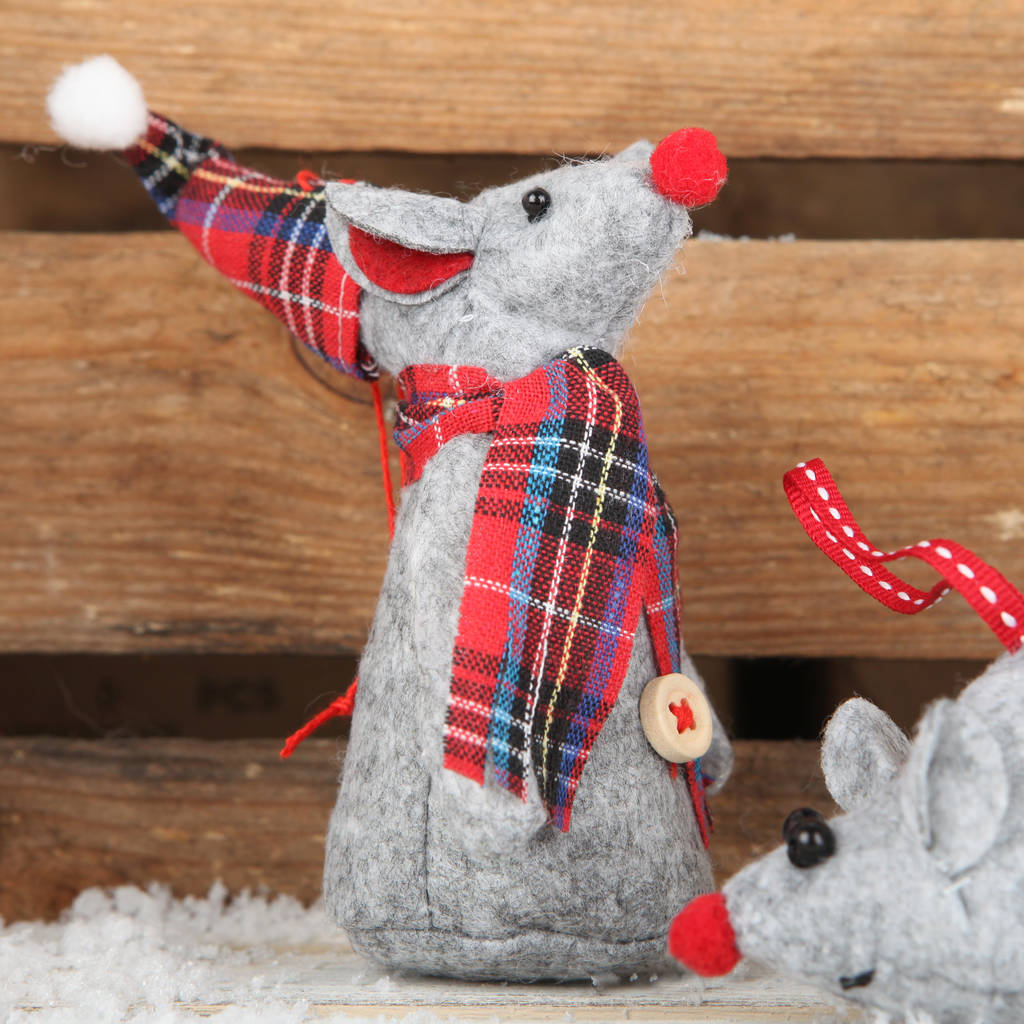 mctavish mouse - Christmas Mouse Decorations