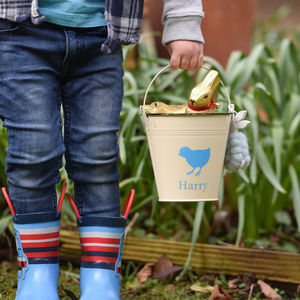 Personalised Party Buckets - easter egg hunt