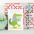 Happy Birthday Crocodile Mini Card