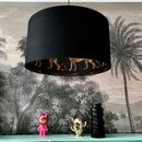 Leopard Walk Cole And Son Lampshade In Black