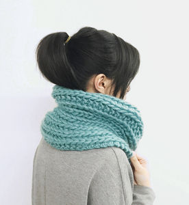 Reversible Ski Snood Diy Knitting Kit