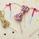 Sequin Bow Alice Band