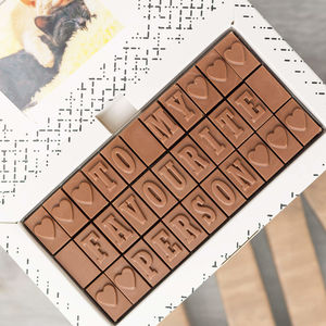 Romantic Chocolate Gift For Him