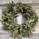 Country Charm Dried Flower Wreath