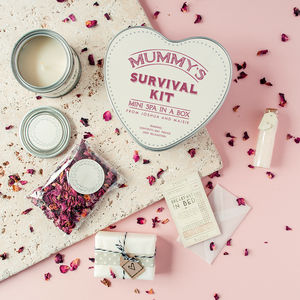 Personalised 'Mini Spa In A Box' Deluxe Survival Kit - bath & body