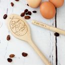 Personalised 16inch Wooden Christmas Pudding Spoon