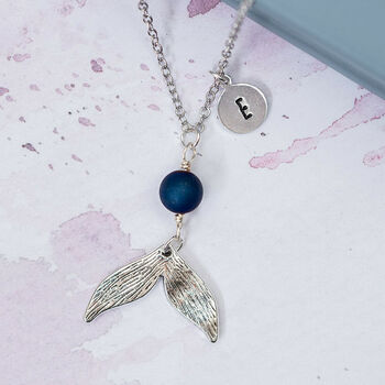 Personalised Mermaid Tail Charm Necklace