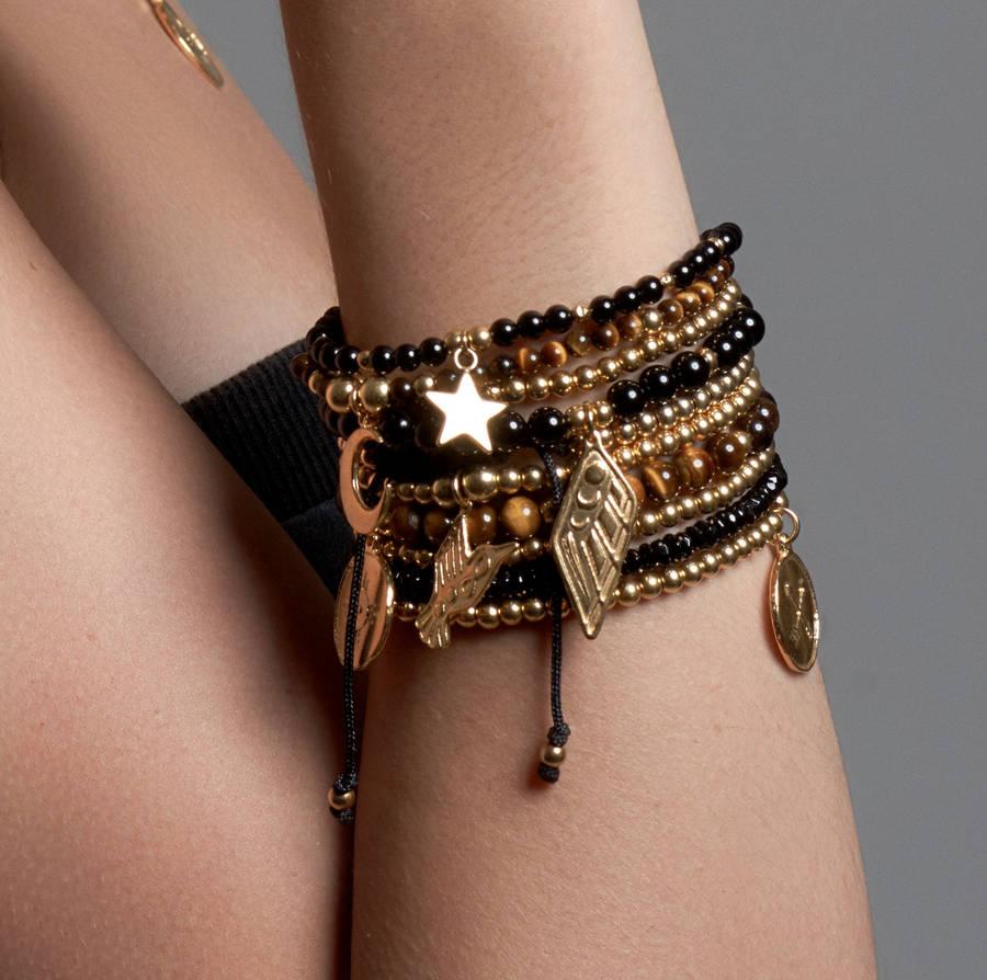 Gold Vermeil Stacking Bracelets