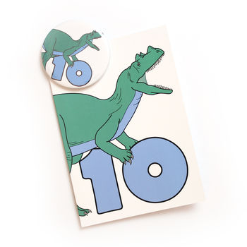 Number 10 Card And Badge Set