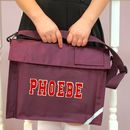 School Book Bag In Assorted Colours