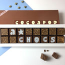Personalised Chocolate For Exam Results
