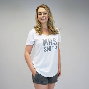 Personalised Mrs Pyjamas - wedding fashion
