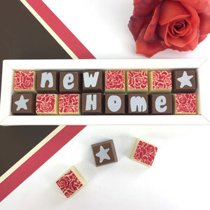 Personalised Chocolates For A NEW HOME - personalised gifts