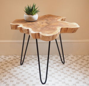 Tree Trunk Coffee Table Two Sizes - furniture
