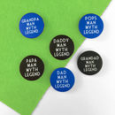 Father's Day Pin Badges