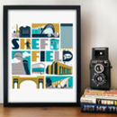 Sheffield Typographic Print