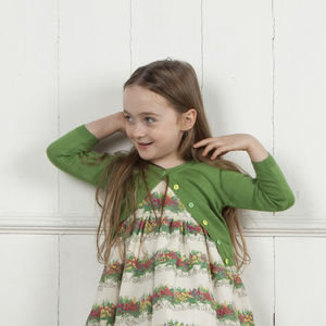 Child's Bright Classic Cardigan Choice Of Colours - party wear