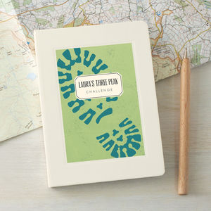 Personalised Walking Notebook - writing