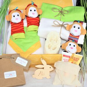 Cheeky Monkey Mother And Baby Pamper Hamper
