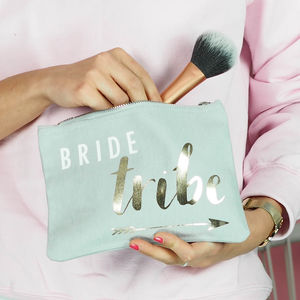 'Bride Tribe' Make Up Bag