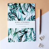 Tropical Paradise Palms A5 Notebook With Lined Pages - trends