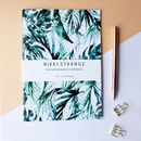 Tropical Paradise Palms A5 Notebook With Lined Pages