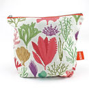 Seaweed Printed Pouch