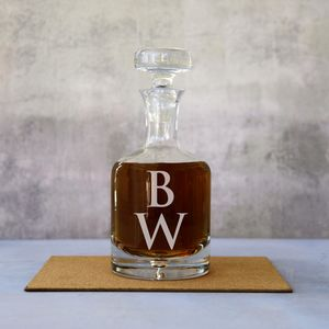 Personalised Monogram Decanter