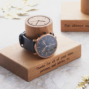 Gent's Single Watch Stand - 50th birthday gifts