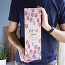 Engagement Wooden Bottle Box