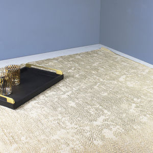 Gold Foil Diamond Rug - rugs & mats