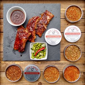 The Famous Five BBQ Rub Collection - christmas food & drink