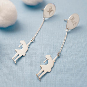 Balloon Girl Earrings - women's jewellery