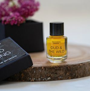 'Oud And The Wild' Natural Botanical Perfume