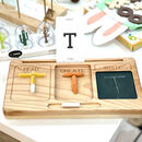Montessori Learning Board / Read, Create And Write