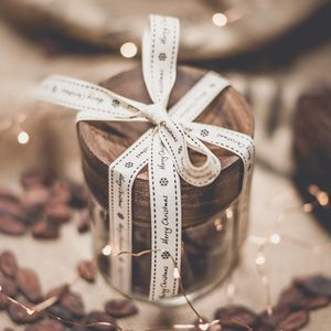 Hot Chocolate In Acacia Glass Gift Jar