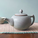 Ru Crackle Glaze Ceramic Teapot