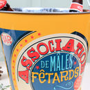 Novelty Vintage French Beer Bucket