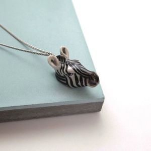 Zebra Necklace - jewellery