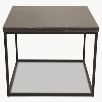 Kingswood Side Table With Blue Stone Top