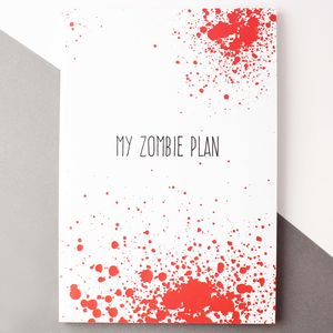 Zombie A6 Notebook - whats new